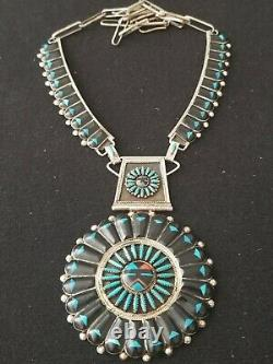 Benji & Shirley Tzuni Sterling Silver Mosaic Necklace, Earrings, Ring And Cuff Set