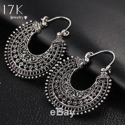Boho Bohemian Gypsy Turkish Aztec hippie Hoop Tribal Ethnic earrings