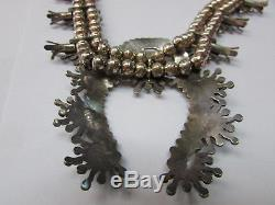 Daniel and Christine Erachio Squash Blossom Necklace and Earrings