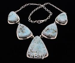 Dry Creek Turquoise Necklace And Matching Earrings Set