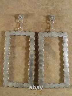 For Bari'Karen Booqua Zuni Sterling Silver & Turquoise Earrings & 2 pairs Frida