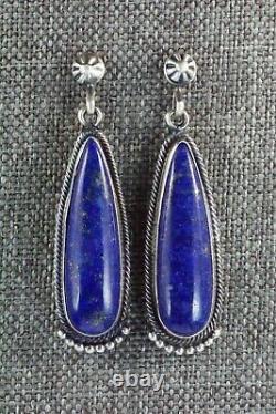 Lapis & Sterling Silver Earrings Verley Betone