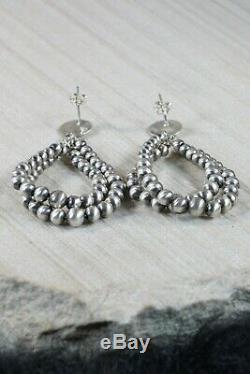 Navajo Sterling Silver Earrings Jan Mariano