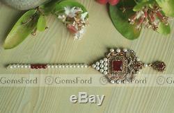 New Full Handmade Bridal Mala Jewellery Set Indian Pakistani Choker Earrings UK