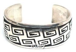 Old Pawn Hopi Sterling Silver Bracelet