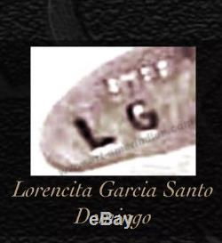 Santo Domingo Lorencita Garcia Sterling Silver Squash Blosoom