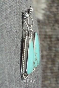 Turquoise & Sterling Silver Earrings Sharon McCarthy