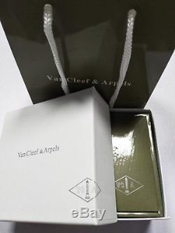 Van Cleef & Arpels 18K Yellow Gold Vintage Alhambra Earrings Classic Black