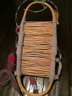 Vintage Havasupai Indian Baby Papoose Cradle Board