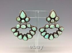 Vintage Oscar Betz Sterling Silver Clip Earrings